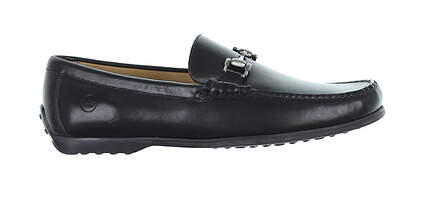 New Mens Golf Shoe Peter Millar Loafer 9 Black ME0F11 MSRP $195