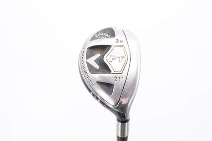 Callaway 2008 FT Hybrid Hybrid 3 Hybrid 21° Callaway Fujikura Fit-On M HYB Graphite Stiff Right Handed 41.0in