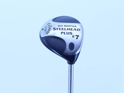 Callaway Steelhead Plus Fairway Wood 7 Wood 7W 21° Callaway Gems Graphite Ladies Right Handed 41.25in
