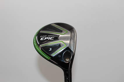 Callaway GBB Epic Fairway Wood 3 Wood 3W 15° Aldila Synergy Blue 50 Graphite Senior Right Handed 43.25in