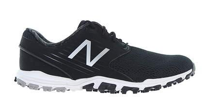 New Womens Golf Shoe New Balance Minimus SL Medium 7 Black NBGW1007BK MSRP $85