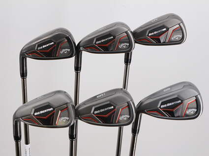 Callaway 2019 Big Bertha Iron Set 5-PW UST Mamiya Recoil ZT9 F3 Graphite Regular Left Handed 38.5in