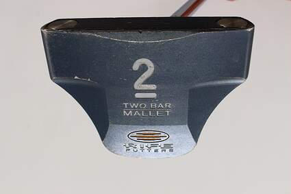 Guerin Rife Two Bar Mallet Putter Steel Right Handed 35.0in