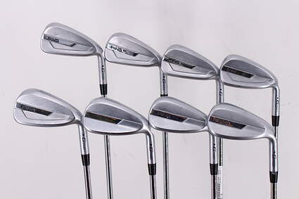 Ping G700 Iron Set 5-PW GW SW AWT 2.0 Steel Stiff Right Handed Black Dot 38.5in