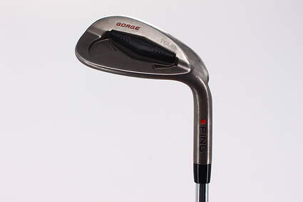 Ping Tour Gorge Wedge Sand SW 54° Wide Sole Stock Steel Shaft Steel Stiff Right Handed Red dot 35.25in