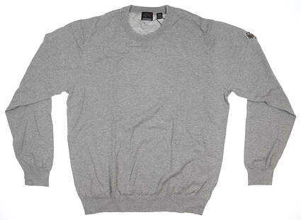 New Mens Greg Norman Foreward Series Cotton Sweater XX-Large XXL Gray G7F8S132 MSRP $70