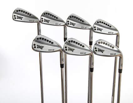 PXG 0311 XF GEN2 Chrome Iron Set 4-PW FST KBS Tour 120 Steel Stiff Right Handed 38.25in