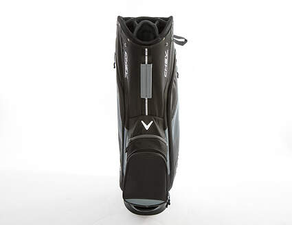 Callaway Chev Cart Bag Black/Titanium/White