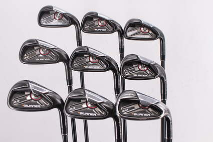 TaylorMade Burner 2.0 Iron Set 3-PW GW TM Superfast 65 Graphite Regular Right Handed 39.75in