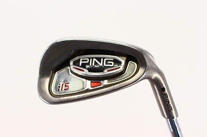 Ping i15 Single Iron 9 Iron True Temper Dynamic Gold S300 Steel Stiff Right Handed Black Dot 35.75in