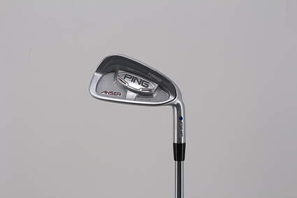 Ping Anser Forged 2010 Single Iron 6 Iron Project X 5.5 Steel Regular Right Handed Blue Dot 37.5in