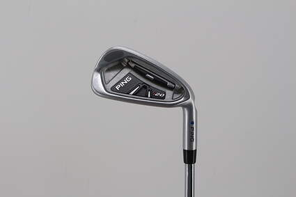 Ping I20 Single Iron 4 Iron Project X 5.5 Steel Regular Right Handed Blue Dot 38.5in
