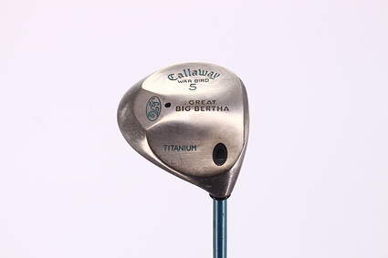 Callaway Big Bertha Warbird Fairway Wood 5 Wood 5W Callaway Gems Graphite Ladies Right Handed 41.5in
