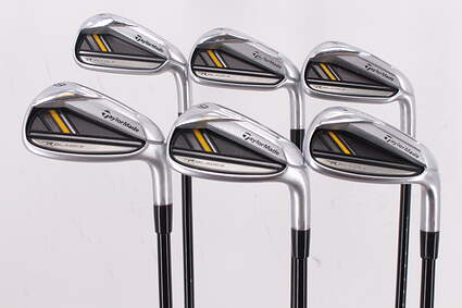 TaylorMade Rocketbladez Iron Set 5-PW ProLaunch AXIS Red Graphite Regular Right Handed 38.25in