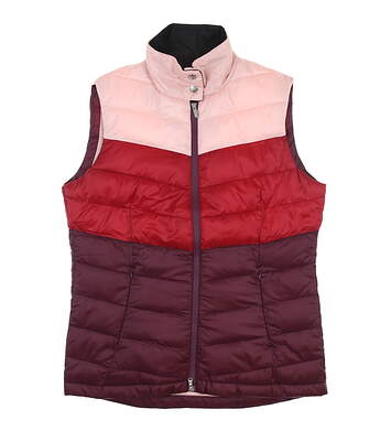 New Womens Daily Sports Sanne Wine Vest Medium M Wine 863/400 MSRP $160