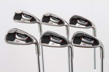 Ping G20 Iron Set 5-PW Ping CFS Steel Regular Right Handed Green Dot 39.0in