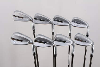 Ping G700 Iron Set 5-PW GW SW UST Recoil 780 ES SMACWRAP Graphite Stiff Right Handed Black Dot 38.5in