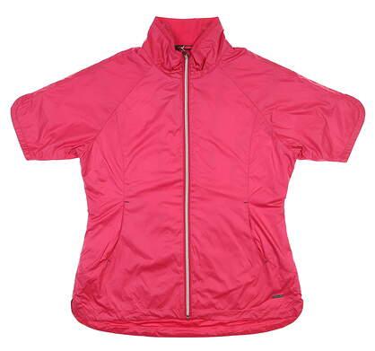 New Womens SUNICE Britanny Short Sleeve Jacket Medium M Pink S53502 MSRP $90