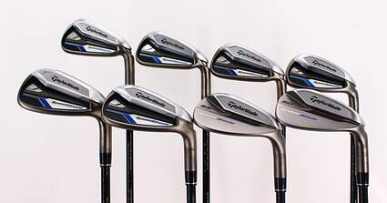 Mint TaylorMade Speedblade Iron Set 5-PW GW SW TM Velox-T Graphite Senior Right Handed 38.5in