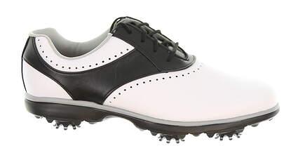New Womens Golf Shoe Footjoy eMerge Medium 10 White/Black 93919 MSRP $90