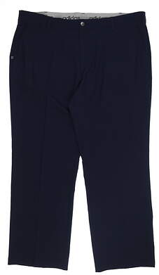 New Mens Adidas Golf Pants 42 x32 Navy Blue 04AD89 MSRP $89