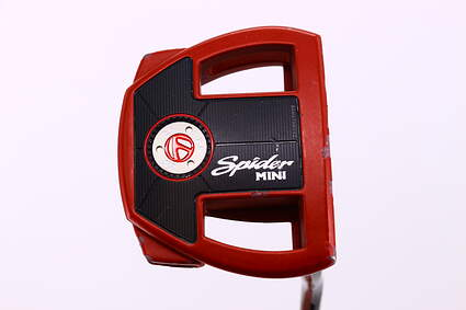 TaylorMade Spider Mini Red Putter Steel Right Handed 35.0in