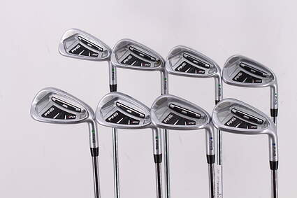 Ping I20 Iron Set 5-PW GW SW Ping CFS Steel Regular Right Handed Green Dot 38.5in