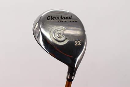 Cleveland Launcher Fairway Wood 7 Wood 7W Fujikura Launcher Gold Graphite Senior Right Handed