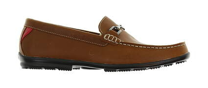 New Mens Golf Shoe Footjoy Country Club Casuals Medium 10.5 Brown 79018 MSRP $160