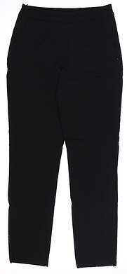 New Womens Puma Golf Pants X-Small XS Black TC10731 MSRP $75