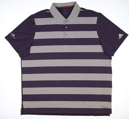 New W/ Logo Mens Adidas Golf Polo XX-Large XXL Multi CF7919 MSRP $75