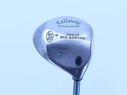 Callaway 2008 Big Bertha Ladies Fairway Wood 7 Wood 7W Callaway Stock Graphite Graphite Ladies Right Handed 41.0in