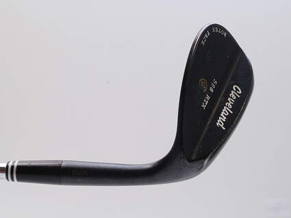 Cleveland 588 RTX Black Pearl Wedge Sand SW 56° 14 Deg Bounce Project X 6.0 Steel Stiff Right Handed 35.25in