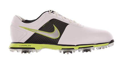 New Mens Golf Shoe Nike Lunar Control Medium 11 White/Black/Neon MSRP $160