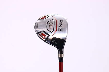 Ping G15 Fairway Wood 4 Wood 4W 17° Ping TFC 149F Graphite Stiff Right Handed 42.75in