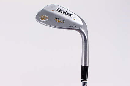 Cleveland 2012 588 Satin Wedge Sand SW 56° 14 Deg Bounce True Temper Tour Concept Steel Wedge Flex Right Handed 35.5in