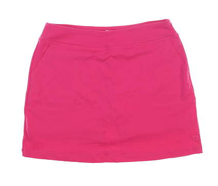 New Womens Footjoy Golf Skort Large L Pink MSRP $85