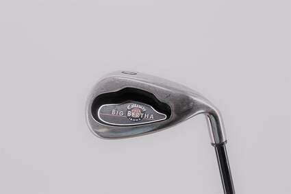 Callaway 2004 Big Bertha Single Iron Pitching Wedge PW 45° Callaway RCH 75i Graphite Regular Right Handed 35.5in