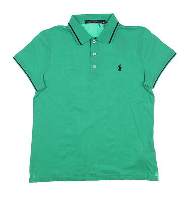 New Womens Ralph Lauren Golf Polo Small S Green MSRP $98.50