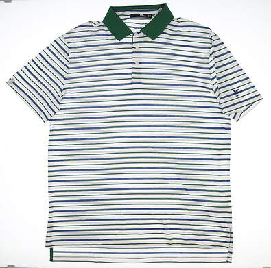 New W/ Logo Mens Ralph Lauren RLX Golf Polo X-Large XL Multi MSRP $98
