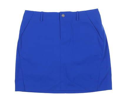 New Womens Ralph Lauren Polo Golf Skort 10 Blue MSRP $125