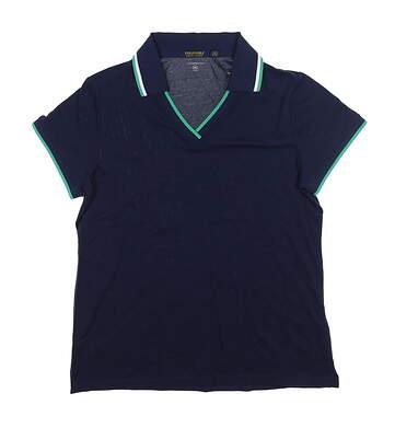 New Womens Ralph Lauren Golf Polo X-Large XL Navy Blue MSRP $89.50
