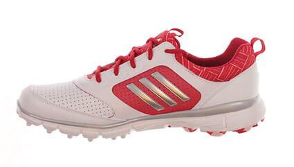 New Womens Golf Shoe Adidas Adistar Sport Medium 9 White/Pink F33494 MSRP $125