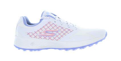 New Womens Golf Shoe Skechers Go Golf Eagle Rival 7 White/Lavender 14868 MSRP $95
