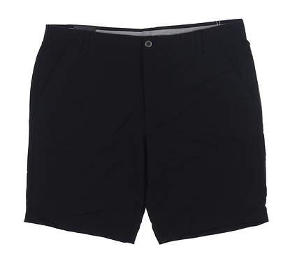 New Mens Under Armour Golf Shorts 42 Black UM8890 MSRP $75
