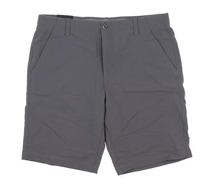 New Mens Under Armour Golf Shorts 36 Gray UM8890 MSRP $75