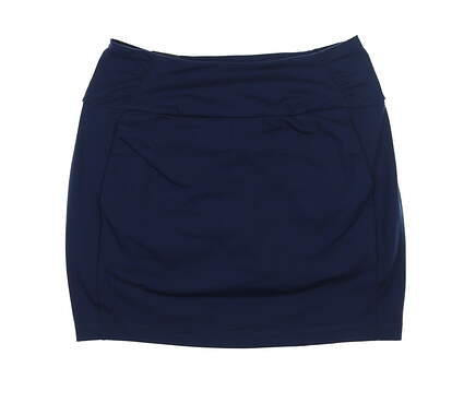 New Womens Under Armour Golf Skort Medium M Navy Blue UW1199 MSRP $70