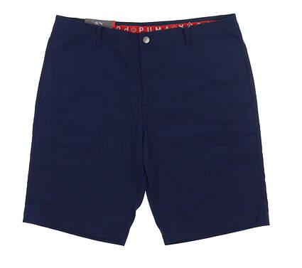 New Mens Puma Jackpot Golf Shorts 40 Peacoat 578182 MSRP $70