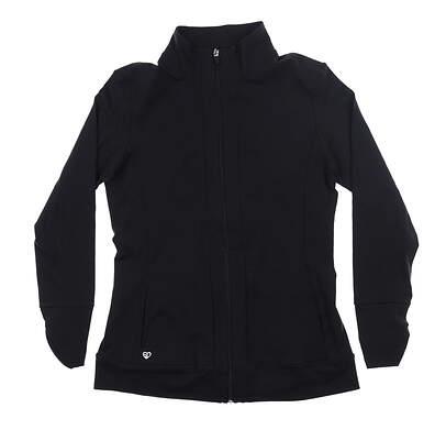 New Womens Straight Down Jacket Large L Black W60250 MSRP $125