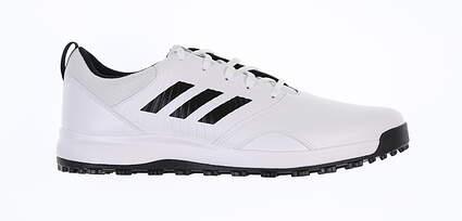 New Mens Golf Shoe Adidas CP Traxion SL Spikeless Medium 11 White/Black MSRP $80